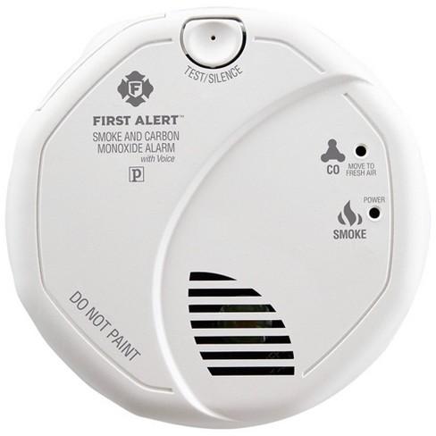 First Alert Sc7010bpvcn Hardwired Smoke Carbon Monoxide Detector