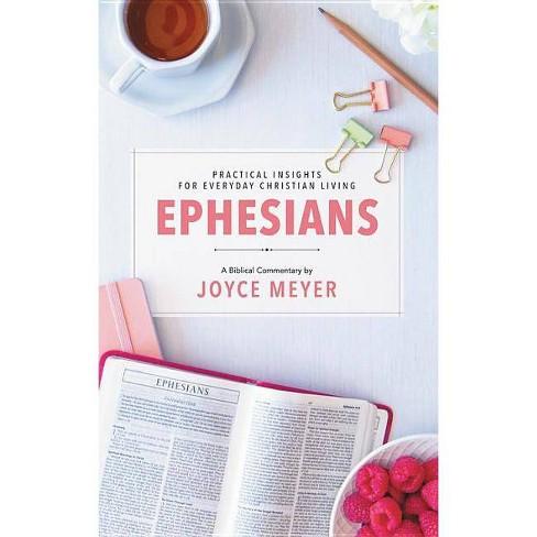 Ephesians - (Deeper Life) by  Joyce Meyer (Hardcover) - image 1 of 1