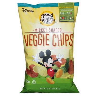 088b0fe52dc46 Good Health Disney Mickey Mouse Shaped Veggie Chips - 6.75oz