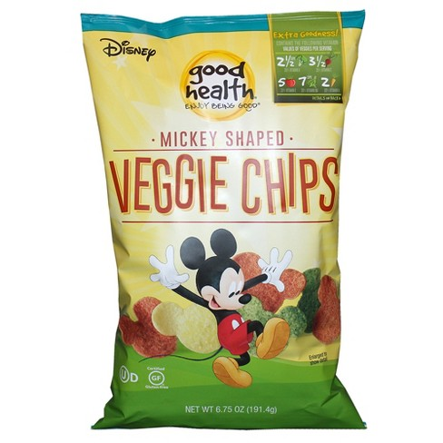 Good Health Disney Mickey Mouse Shaped Veggie Chips - 6.75oz - image 1 of 1
