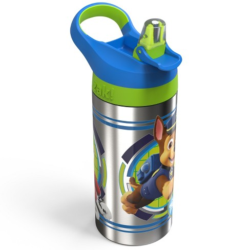 PAW Patrol 19.5oz Stainless Steel Water Bottle Blue/Green - Zak Designs - image 1 of 3