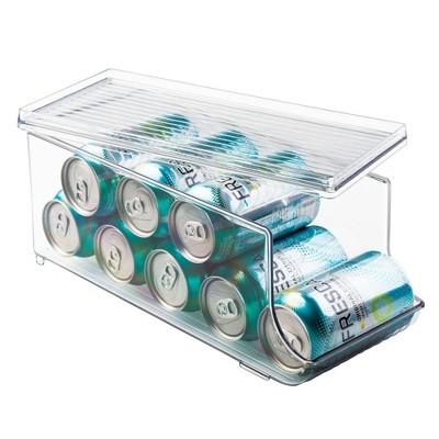 iDESIGN Fridge Binz Soda Holder Plus Clear