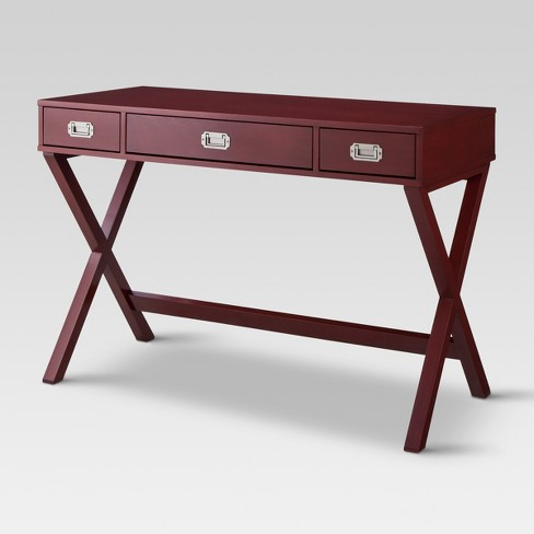 Stupendous Campaign Desk Salsa Red Threshold Gmtry Best Dining Table And Chair Ideas Images Gmtryco