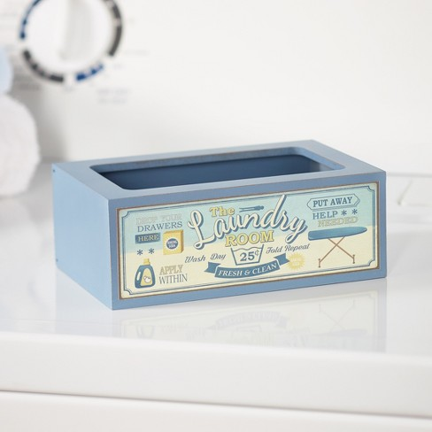 Lakeside Laundry Softener Dispenser Cover with Vintage Style - Fresh & Clean - image 1 of 2