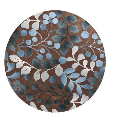 Nourison Contour Chocolate Area Rug