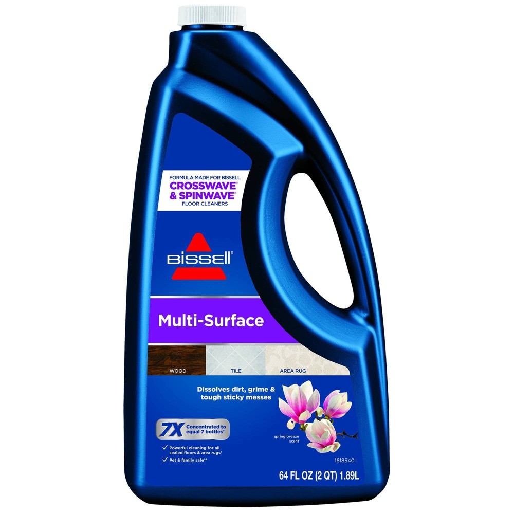 Image of BISSELL 64 oz. CrossWave & SpinWave Multi-Surface Floor Cleaning Formula – 17891