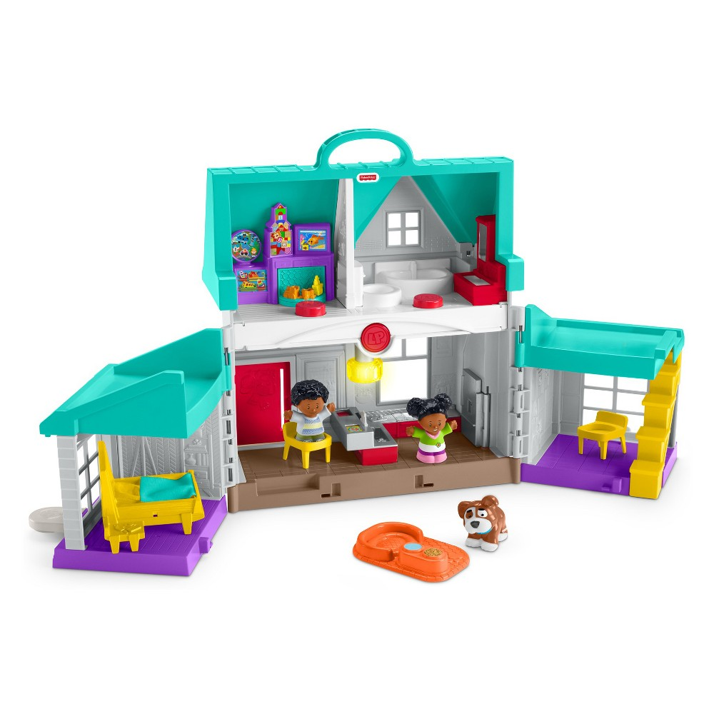 Fisher-Price Little People Big Helpers Chris & Tessa Home