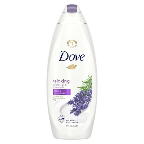 Dove Relaxing Lavender Oil & Chamomile Nourishing Body Wash - 22 fl oz - image 1 of 4