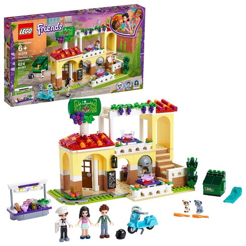 LEGO Friends Heartlake City Restaurant 41379 Building Kit with Restaurant Playset and Mini Dolls - image 1 of 4