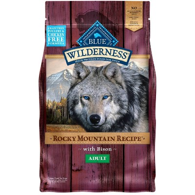 Blue Buffalo Wilderness Grain Free Rocky Mountain Recipe with Bison Adult Dry Dog Food