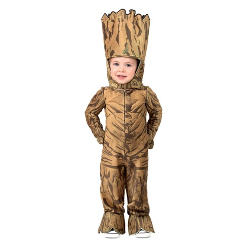 Marvel Toddlers' Groot Jumpsuit Halloween Costume - image 1 of 1