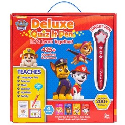 Nickelodeon PAW Patrol Quiz It Pen Let's Learn Together Electronic Boxed Set