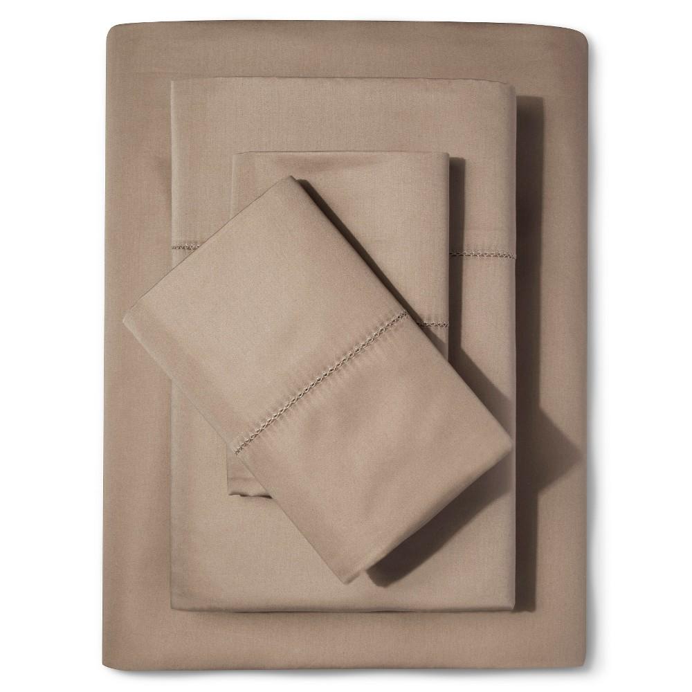 Supima Classic Hemstitch Sheet Set (Full) Light Peet 700 ...