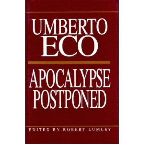 Apocalypse Postponed - (Perspectives) by  Umberto Eco (Paperback) - image 1 of 1