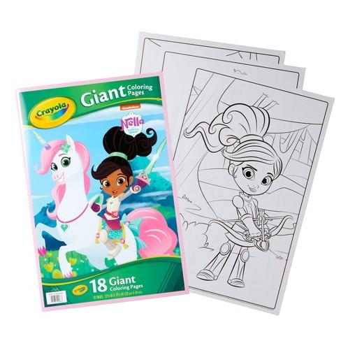 Crayola Nella The Princess Knight Coloring Book Target