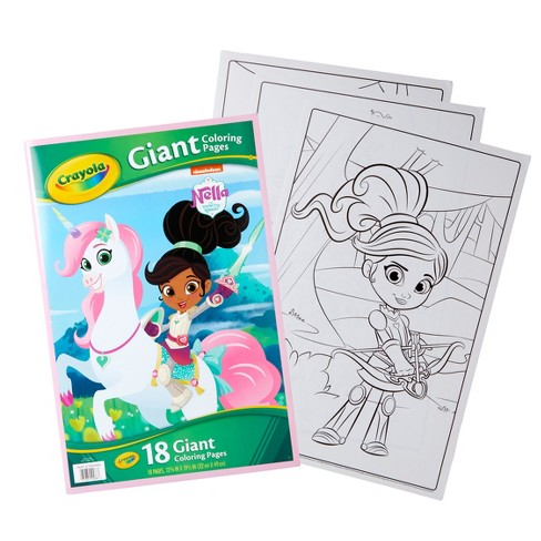Crayola Nella The Princess Knight Coloring Book : Target