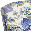 Elm Lane Ethel Indigo Floral Push Back Recliner Chair - image 4 of 4