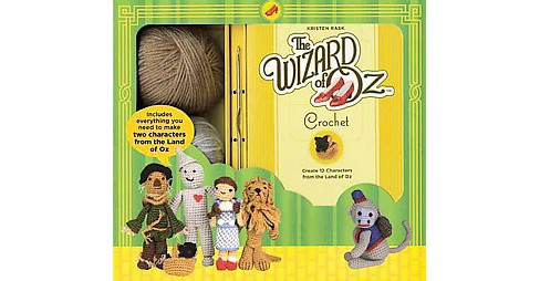 Wizard of Oz Crochet : Create 12 Characters from the Land of Oz (Paperback) (Kristen Rask) - image 1 of 1