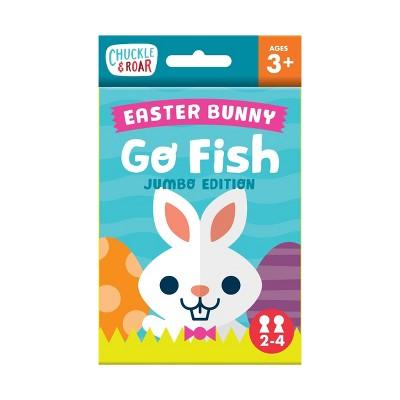 Chuckle & Roar Easter Bunny Go Fish Game