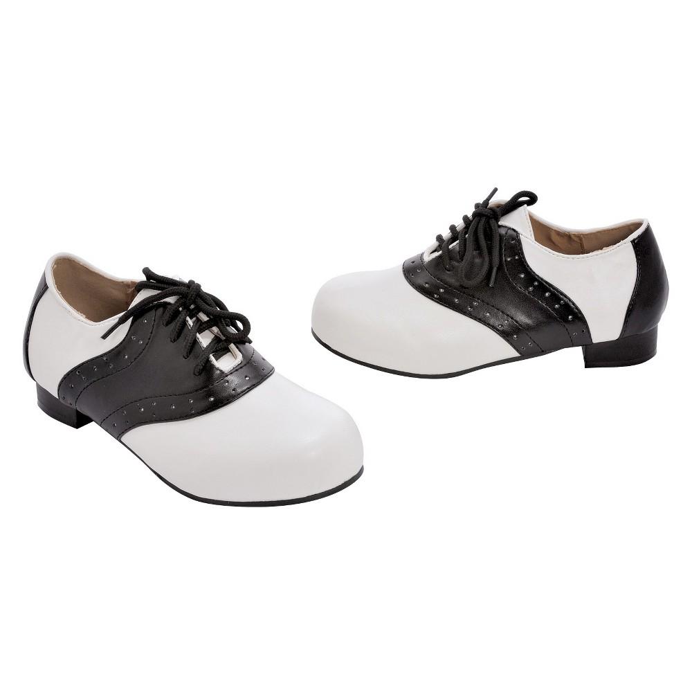 Halloween Saddle Girls' Shoes White Costume - S(11/12)