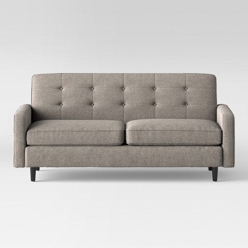 Largent Tufted Track Arm Sofa Gray - Project 62™ - image 1 of 6