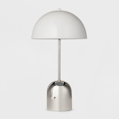 Metal Task Lamp - White/Silver - Project 62™
