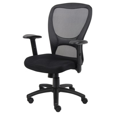 Mesh Task Chair Black - Boss