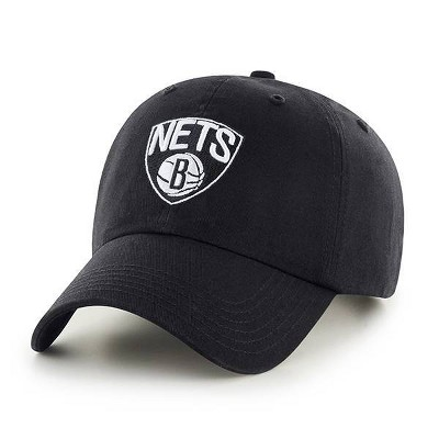 NBA Brooklyn Nets Men's Clean Up Hat