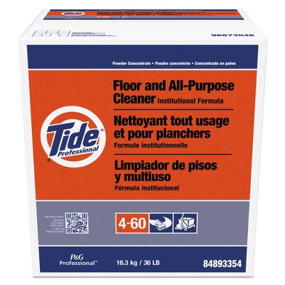 Tide Professional 02364 36 lbs. Box Floor and All-Purpose Cleaner