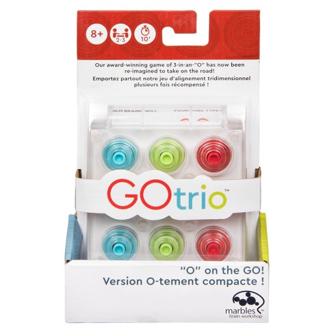 Gotrio Game by Marbles Brain Workshop, 28pc Travel Game for Players Aged 8 and Up - image 1 of 4