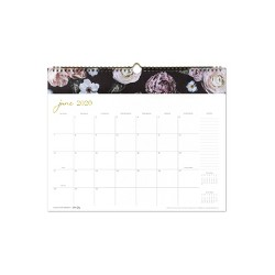 2020 Wall Calendar Midnight Musk - cupcakes and cashmere