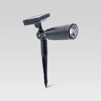 Outdoor LED Spotlight Black - Threshold™