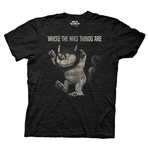 Men's Where the Wild Things Are® T-Shirt - Black - image 1 of 1