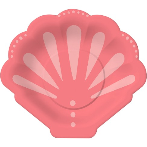 10ct Mermaid Shell Snack Plate - Spritz™ - image 1 of 1
