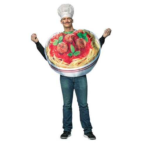 Men's Morris Apparel Pasta Bowl Full Body Costume - image 1 of 1