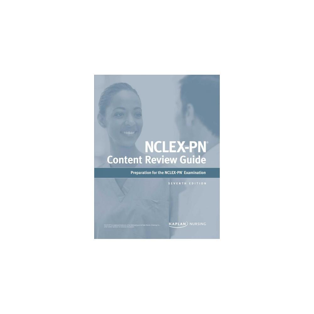 Kaplan Nclex-PN Content Review Guide - 7 (Kaplan Nclex-pn Content Review Guide) (Paperback)