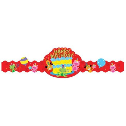 Creative Teaching Press Happy Birthday Crowns - image 1 of 1