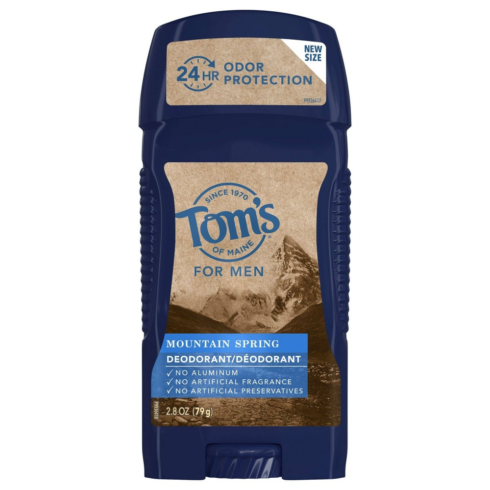 Image of Men's Tom's of Maine Mountain Spring Deodorant - 2.8oz