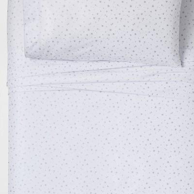 4pc Full Stars Sheet Set Silver - Pillowfort™