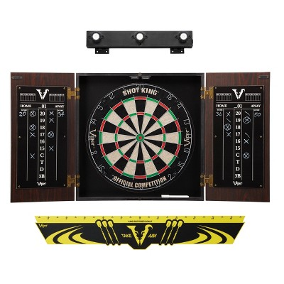 Viper Stadium Dartboard Cabinet with Cabinet Mounted Display Light