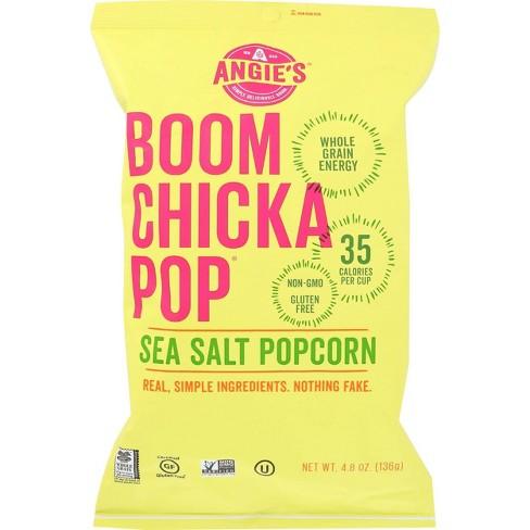 Angie's BOOMCHICKAPOP Sea Salt Popcorn - 4.8oz / 12pk - image 1 of 4
