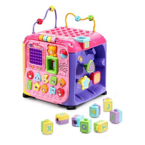 VTech Ultimate Alphabet Activity Cube - Pink - image 1 of 4
