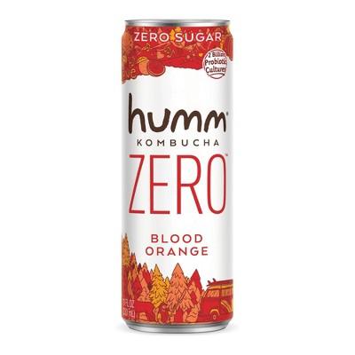 Humm Zero Sugar Blood Orange Kombucha - 11 fl oz