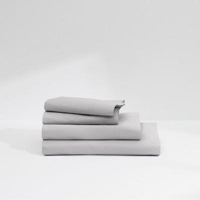 Casper Twill 360TC Sheet Set - Gray (Queen)