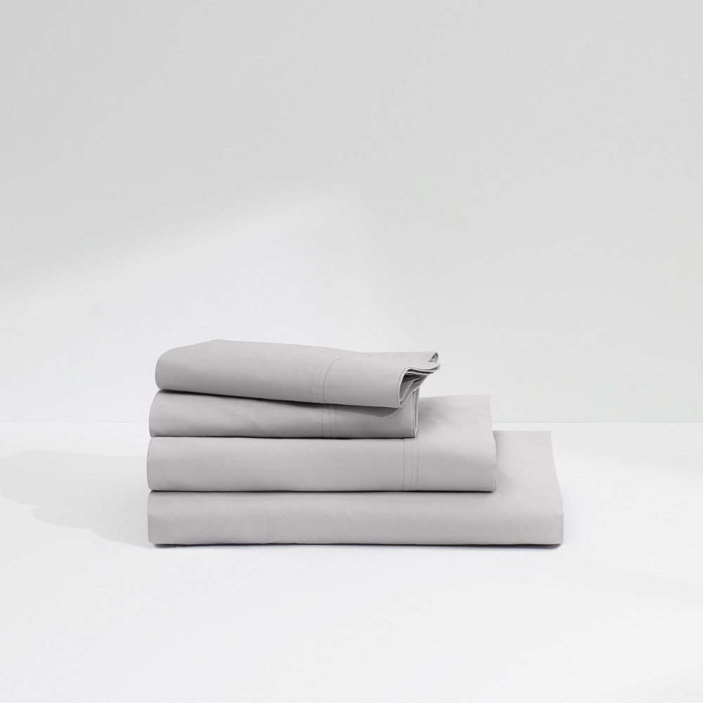 Image of Casper Twill 360TC Sheet Set - Gray (California King)