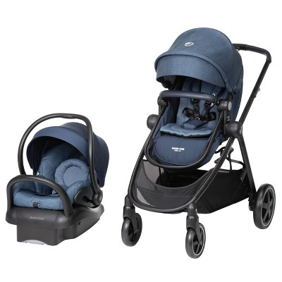 Maxi Cosi Zelia Max 5-in-1 Travel System - Nomad Blue