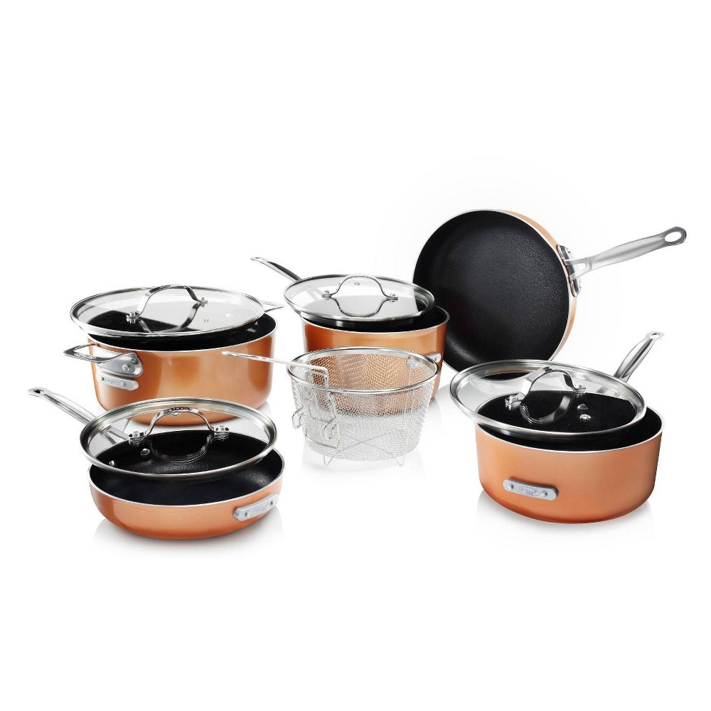 Image of As Seen on TV Gotham Steel 10pc Stackmaster Cookware Set