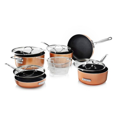 Gotham Steel 10pc Stackmaster Cookware Set - image 1 of 4