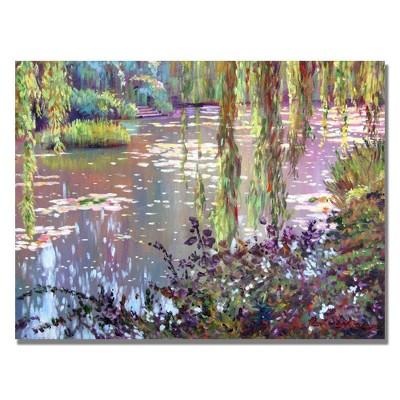 """26"""" x 32"""" Homage to Monet by David Lloyd Glover - Trademark Fine Art"""