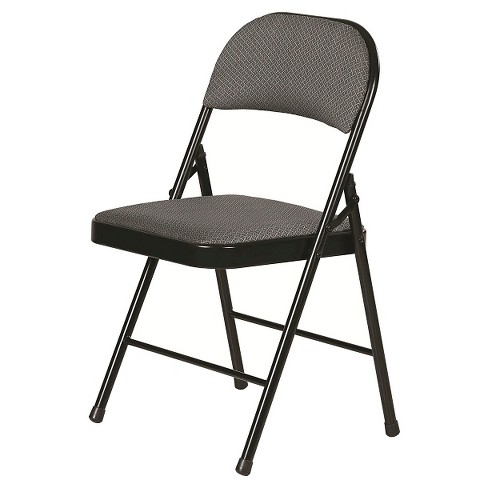 Folding Chair Rich Charcoal Gray - Plastic Dev Group - image 1 of 3